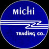 Michi Trading Company Logo and Contact Button