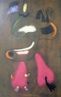 Softcover Book entitle Joan Miro - Sample Page