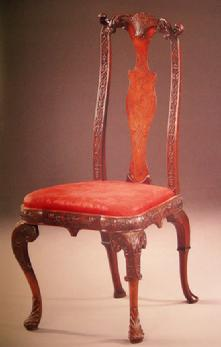 Sotheby Auction Catalogue: Important English Furniture - Nov., 1990 London- Sample Page 3
