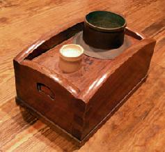 Japanese Antique Smoking Box (Tobakobon)
