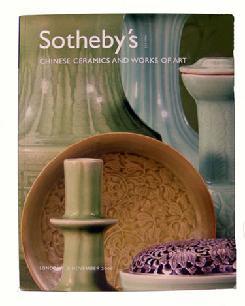 Sotheby's Auction Catalogue Chinese Ceramics and Works of Art London 1106