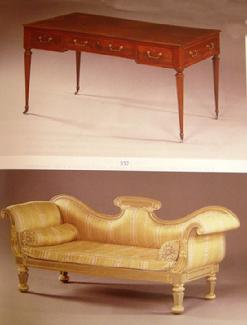 Sotheby Auction Catalogue: Important English Furniture - Nov., 1990 London- Sample Page 1