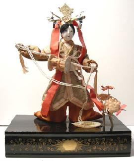 Japanese Story Doll with Drum