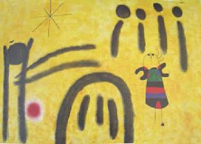 Softcover Book entitle Joan Miro -Sample Page 3
