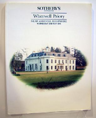 Sotheby's Auction Catalogue Wherwell Priory