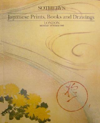 Vintage Sotheby Auction Catalogue: Japanese Prints, Books, Drawings - 1989
