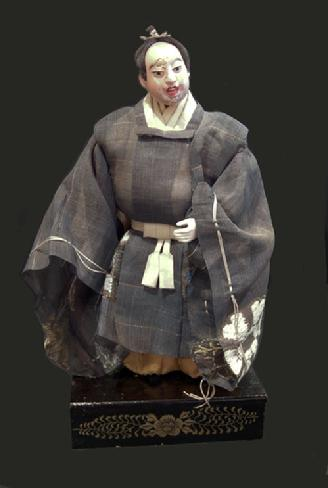 Antique Japanese Takeda Ningyo (Doll)- Actor
