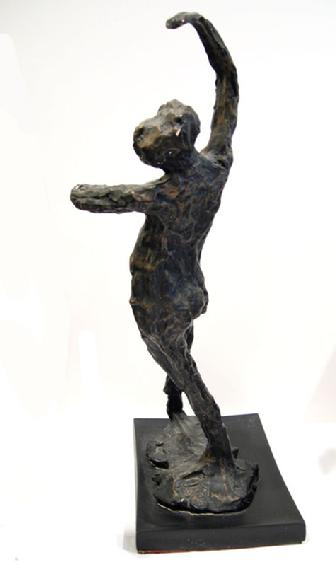 Degas Sculpture entitled 'Spanish Dancer' - 1969 (After the Artist) - Alternate View