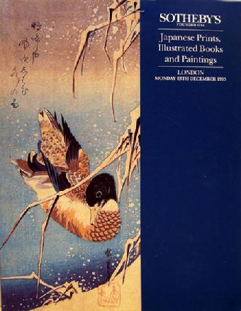 Sotheby Auction Catalogue - Japanese Prints, Illustrated Books and Paintings- Dec. 13, 1993