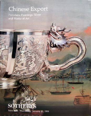 Sotheby's Auction Catalogue: Chinese Export - New York - Jan. 20, 1999