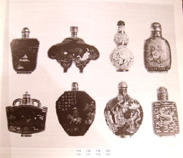 Sotheby Auction Catalogue Chinese Snuff Bottles 1973