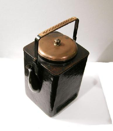 Antique Japanese Copper Mengei `Shoto� (Small Portable Stove)