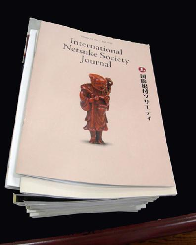 44 Issues of the International Netsuke Society Journals