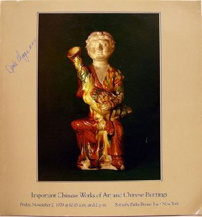 Sotheby Parke Bernet Chinese Works of Art & Paintings 11/79