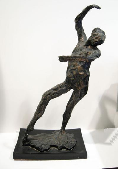 Degas Sculpture entitled 'Spanish Dancer' - 1969 (After the Artist) - 15""